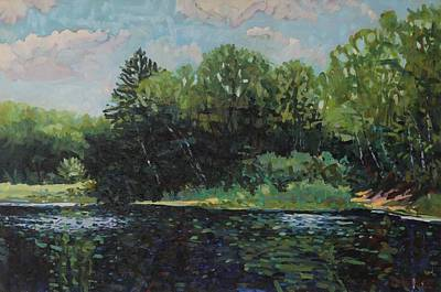 Painting - Mccrae Portage by Phil Chadwick