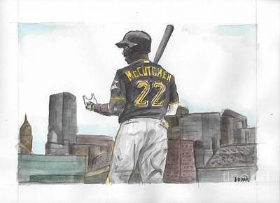 Andrew Mccutchen Painting - Mccutchen by Brandon Hudak