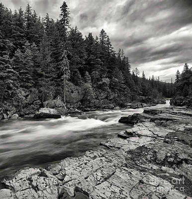 Photograph - Mcdonald Creek by Art Cole
