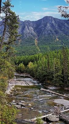 Photograph - Mcdonald Creek by Joe Duket