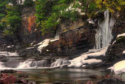 Photograph - Mcdonald Creek, Montana by Jedediah Hohf
