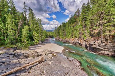 Photograph - Mcdonald Creek by Spencer McDonald
