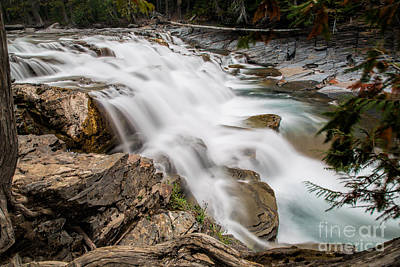 Photograph - Mcdonald Falls by Jemmy Archer