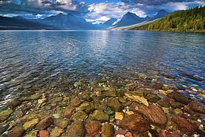 Mcdonald Lake Colors Print by Greg Nyquist