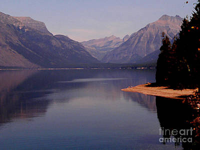 Photograph - Mcdonald Lake by David Bearden