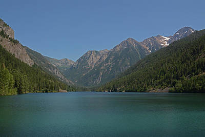 Mcdonald Lake- Ronan Montana Art Print