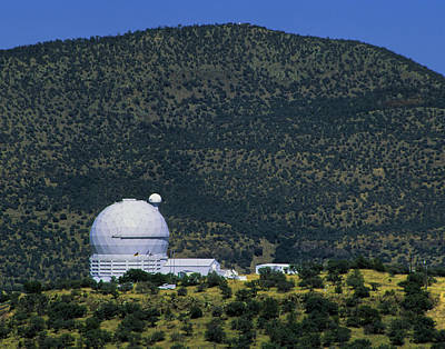 Photograph - Mcdonald Observatory Telescope by David and Carol Kelly