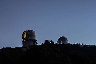 Photograph - Mcdonald Observatory The Lights On by Renny Spencer