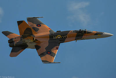 Fine Dining - Mcdonnell Douglas Cf-18 Hornet by Tommy Anderson