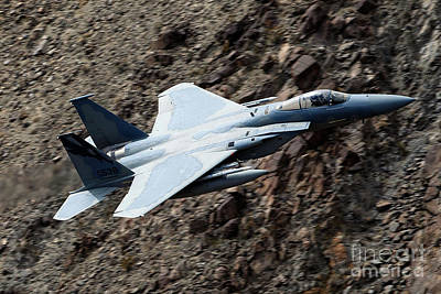 F-15c Eagle Photograph - Mcdonnell-douglas F-15c Eagle From 144th Fw 194th Fs Griffins Sn 78-538 by Jason O Watson