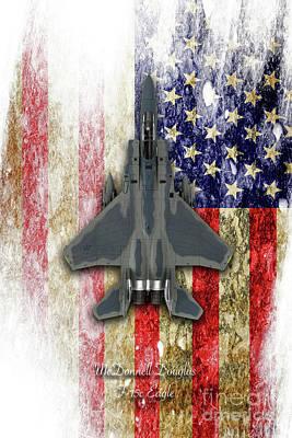 F-15c Eagle Digital Art - Mcdonnell Douglas F-15c Eagle by J Biggadike