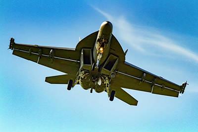 Photograph - Mcdonnell Douglas F/a-18 Super Hornet by Pete Federico
