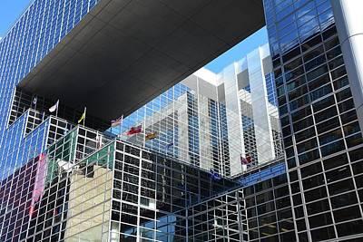 Photograph - Mcgee Building  Ottawa by John Schneider