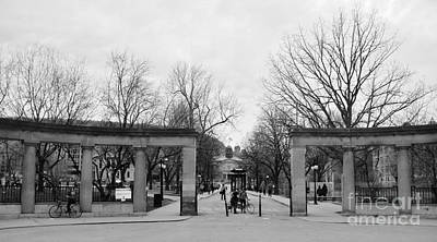 Photograph - Mcgill Gates by Reb Frost