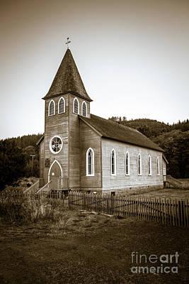 Photograph - Mcgowan Church by Robert Bales
