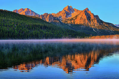 Photograph - Mcgown Alpenglow by Greg Norrell