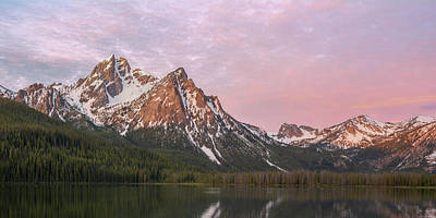 Photograph - Mcgown Peak At Sunrise by Aaron Spong