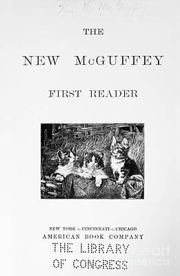 Of Kittens Photograph - Mcguffeys Reader, 1901 by Granger