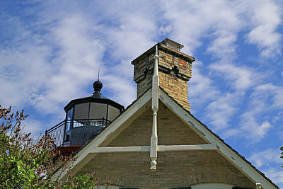 Photograph - Mcgulpin Lighthouse 2 by Mary Bedy