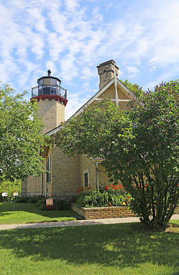 Photograph - Mcgulpin Lighthouse 3 by Mary Bedy