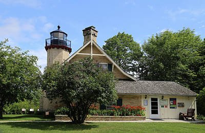 Photograph - Mcgulpin Lighthouse 4 by Mary Bedy