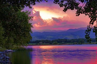 Mcintosh Lake Sunset Art Print by James BO  Insogna