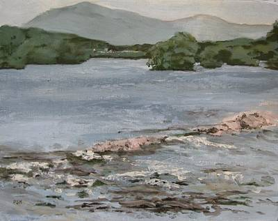 Mckee's Falls Art Print by Peggy Klinger