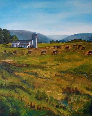 Painting - Mckenzie's Farm by Anita Carden