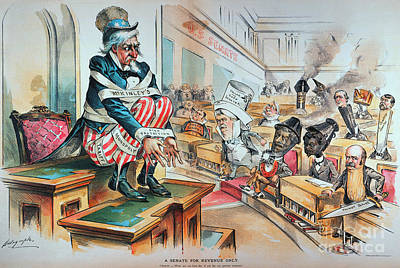 Mckinley Tariff Act, 1894 Art Print by Granger