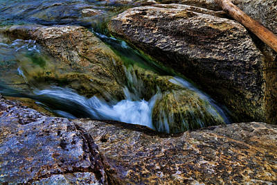 Photograph - Mckinney Falls State Park-lower Falls 4 by Judy Vincent