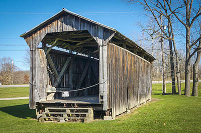 Photograph - Mclain/lobdell Covered Bridge  by Jack R Perry