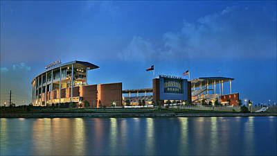 Mclane Stadium -- Baylor University Art Print by Stephen Stookey