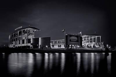 Rg3 Photograph - Mclane Stadium - Bw No. 1 by Stephen Stookey