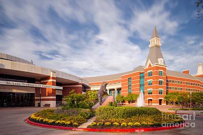 Mclane Student Life Center And Sciences Building - Baylor University - Waco Texas Art Print by Silvio Ligutti