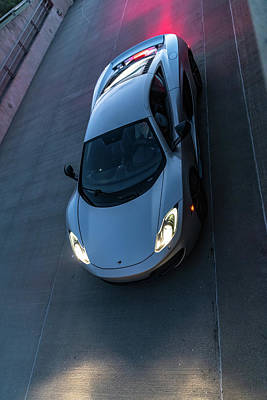 Photograph - Mclaren 12c by Randy Scherkenbach