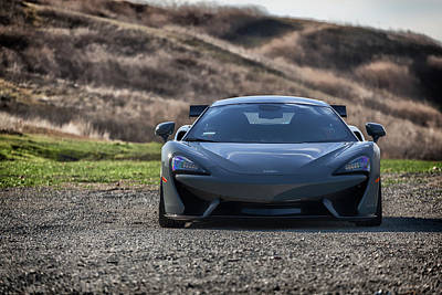 Photograph - #mclaren #570s #print by ItzKirb Photography