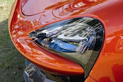 Gt3 Rs Photograph - Mclaren Eyeing A Porsche by Don Columbus