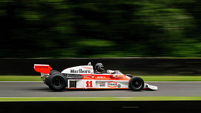 Photograph - Mclaren M26 James Hunt by Kelvin Trundle