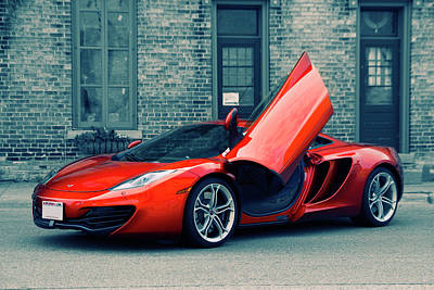 Photograph - Mclaren Mp4-12c by Joel Witmeyer