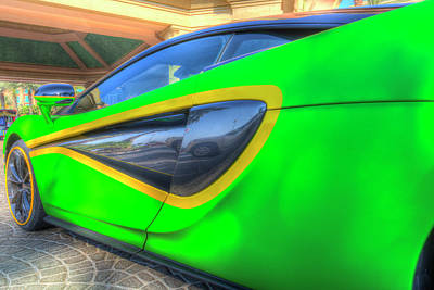 Royalty-Free and Rights-Managed Images - McLaren P1 by David Pyatt