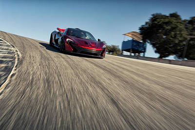 Photograph - #mclaren #p1 Down The Corkscrew by ItzKirb Photography