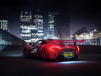 Photograph - Mclaren P1 Gtr In London by George Williams
