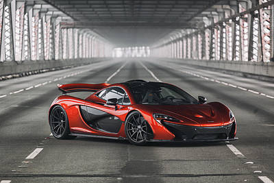 Photograph - #mclaren #p1 #print by ItzKirb Photography