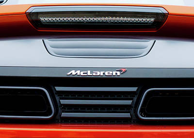Photograph - Mclaren Sports Car 81616 by Rospotte Photography
