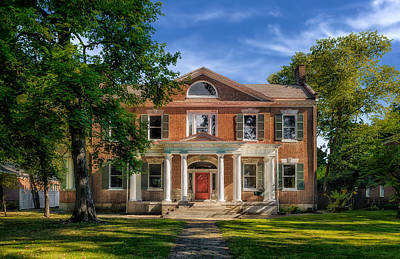 Photograph - Mcmeeking-muir House - Bardstown - 1820 - 1 by Frank J Benz