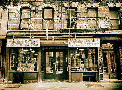 Storefront Photograph - Mcnulty's Tea And Coffee by Jessica Jenney