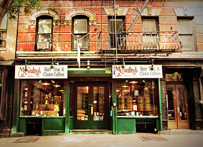 Storefront Photograph - Mcnulty's Tea And Coffee Vintage by Jessica Jenney