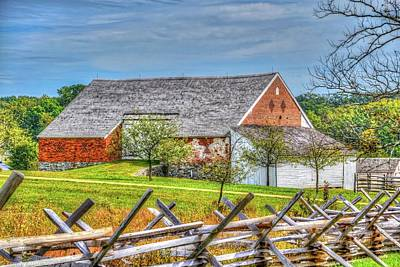 Popular Rustic Neutral Tones - McPherson Farm at Gettysburg  by Tommy Anderson