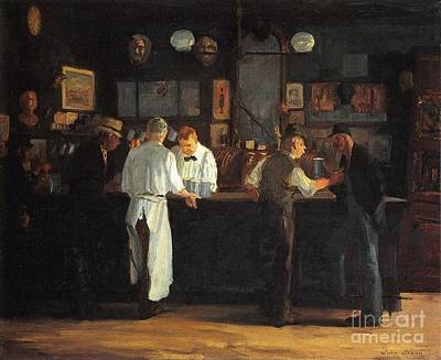 Sloan Painting - Mcsorley's Bar by MotionAge Designs