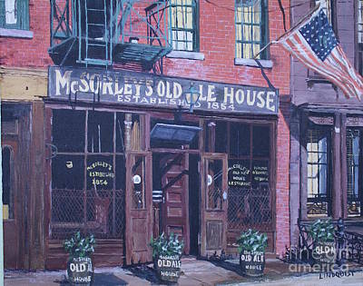 Mcsorley's Old Ale House  Art Print
